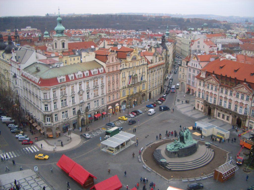 COSA VEDERE A PRAGA: vista dalla Torre dell'Orologio Astronomico