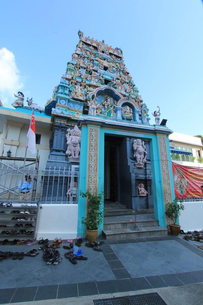 singapore cosa vedere, chinatown Sri Mariamman