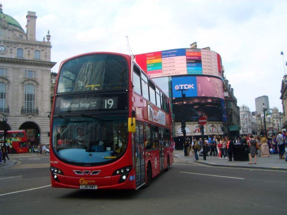 londra autobus a 2 piani