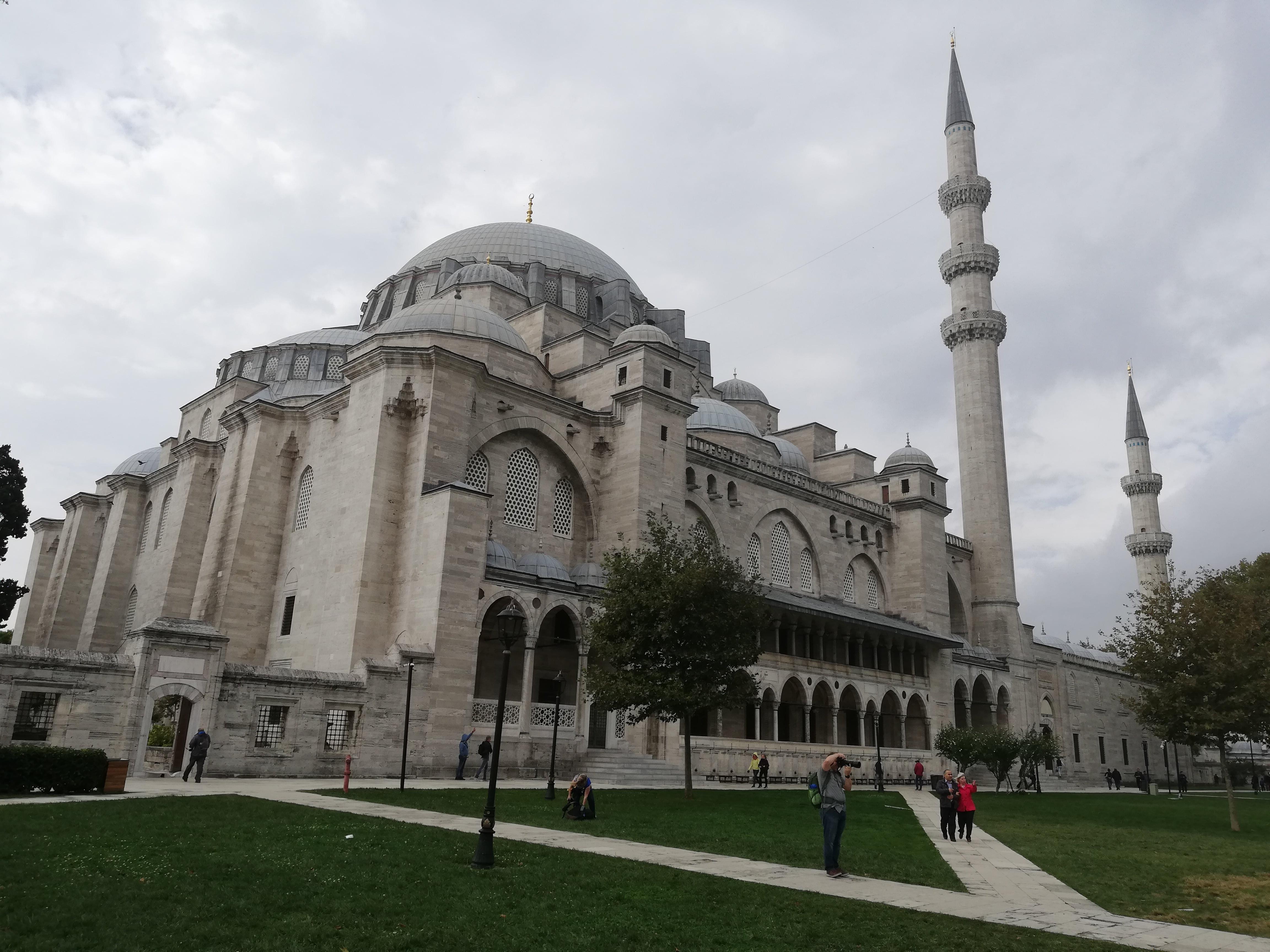 moschea di Solimano , Süleymaniye camii
