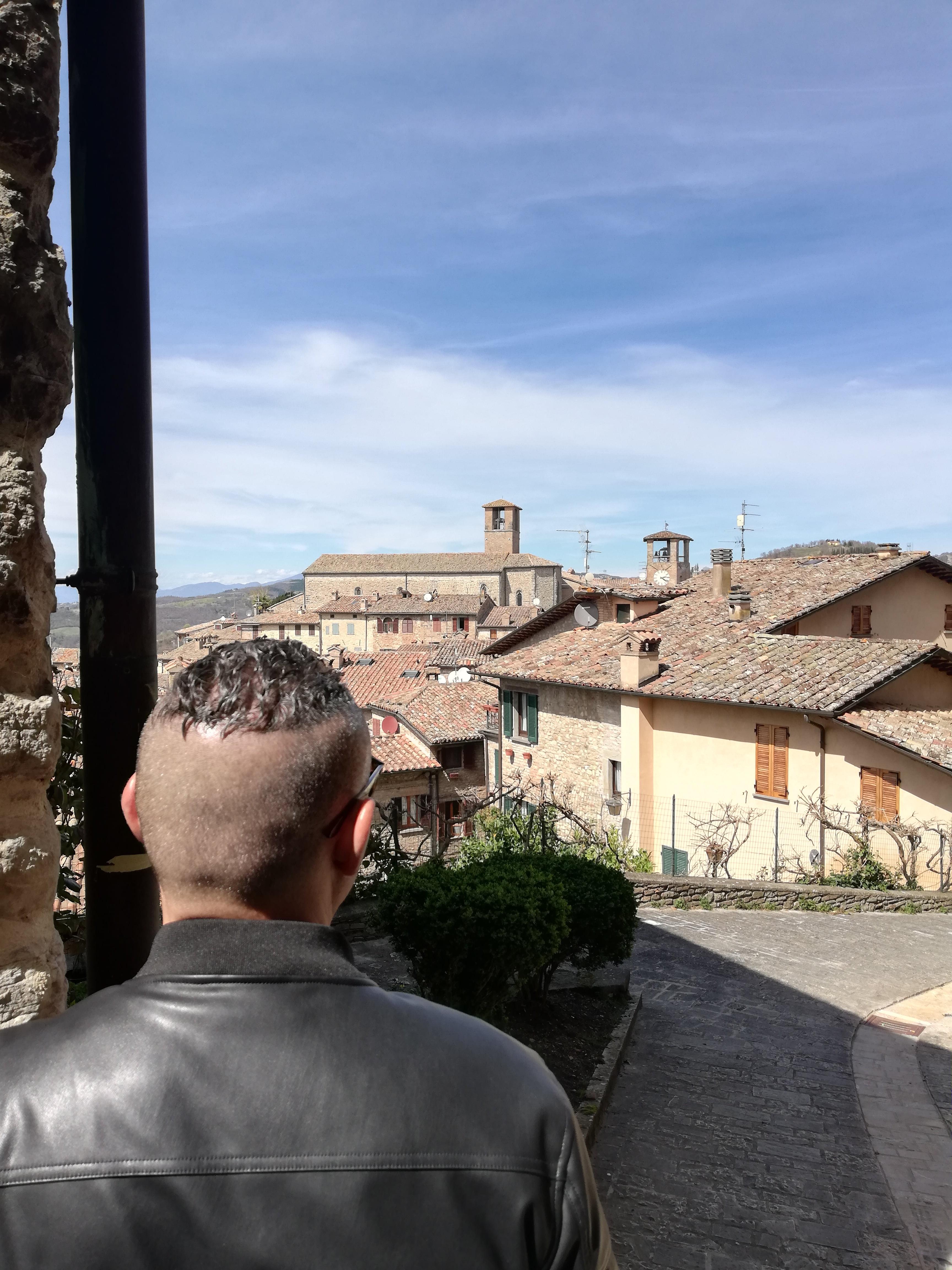 veduta di Montone, Umbria