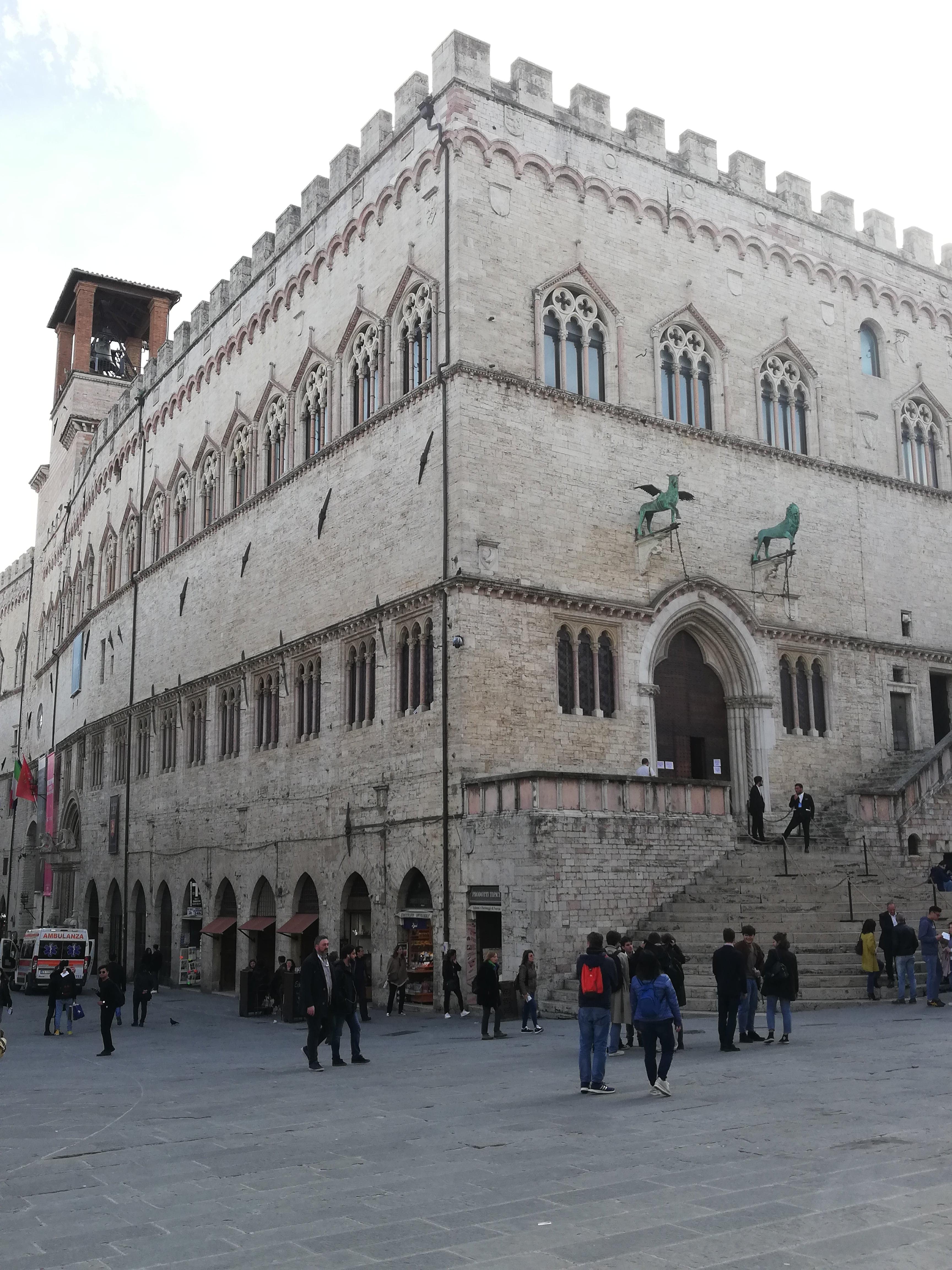 palazzo priori., cosa vedere a Perugia