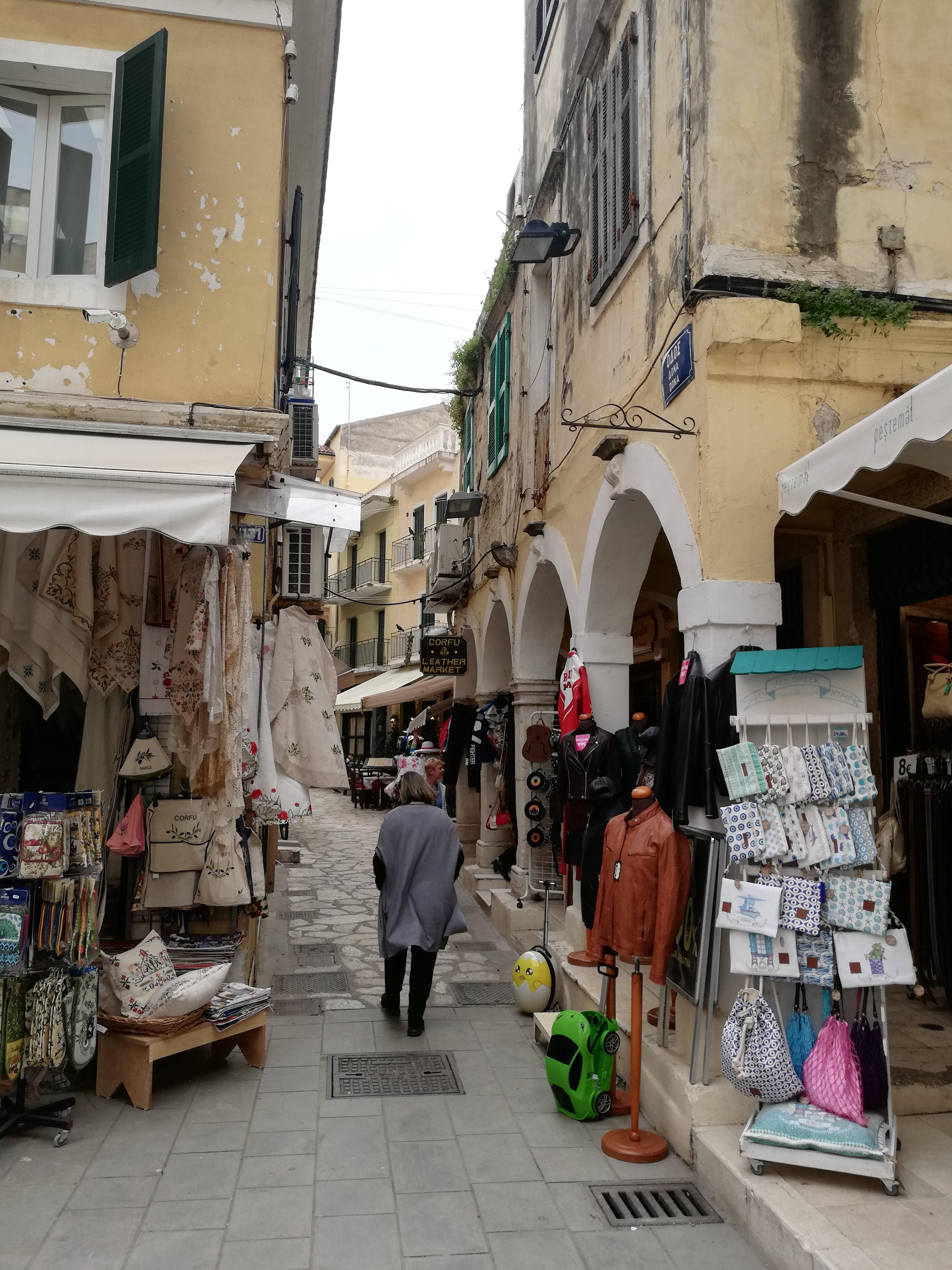 Le strade di Corfu' Grecia