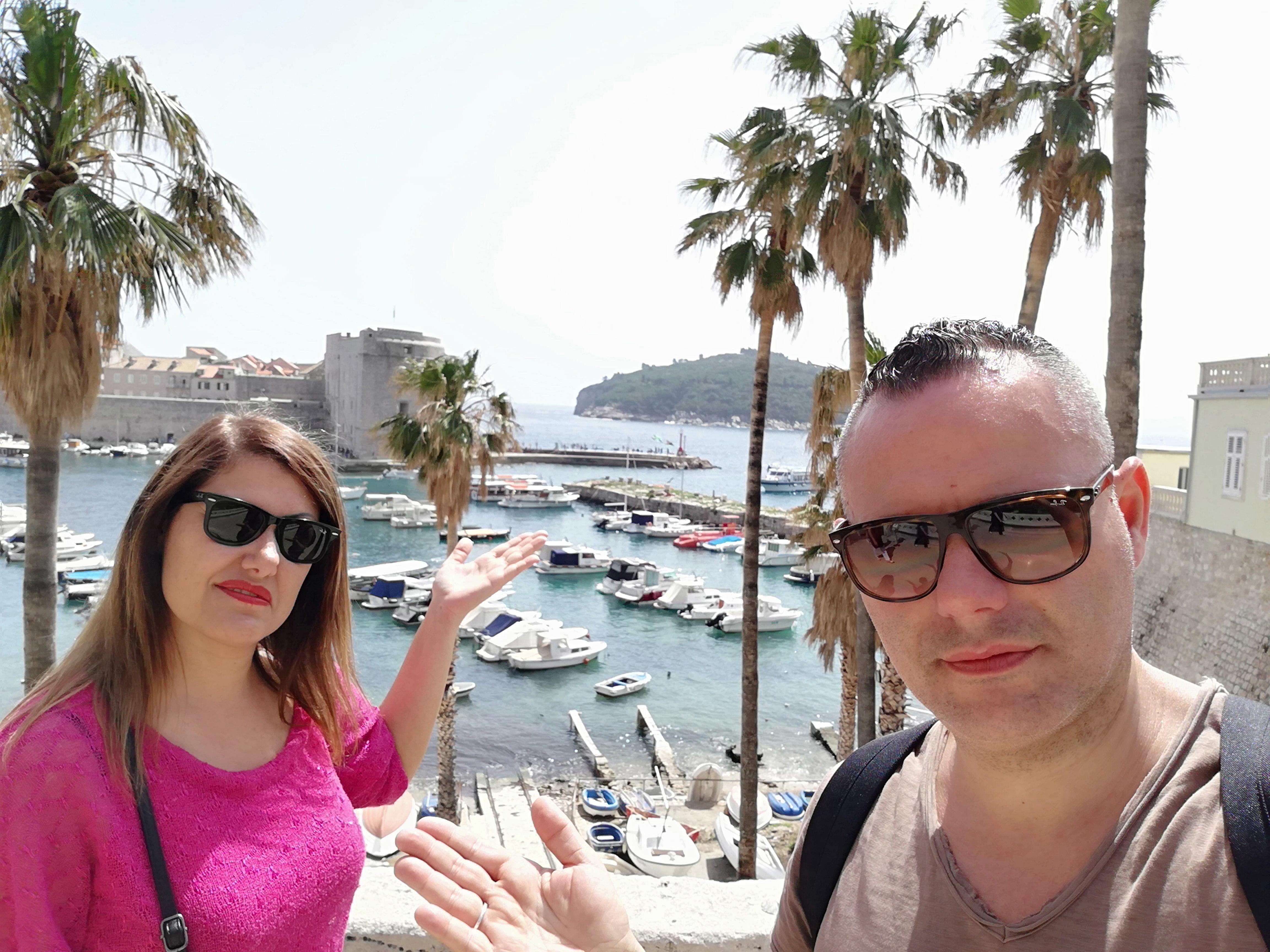 Il porto vecchio di Dubrovnik