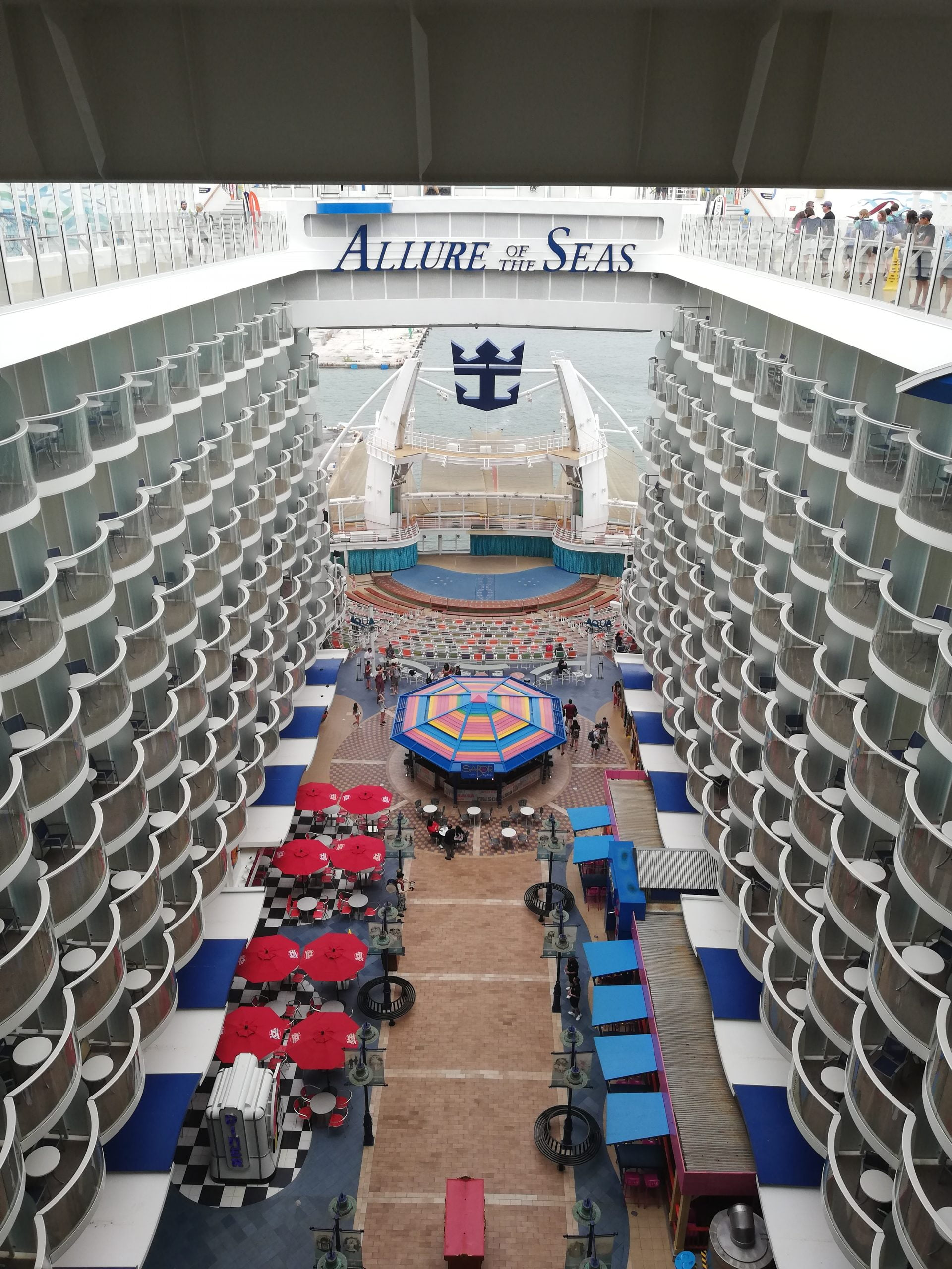 ALLURE OF THE SEAS BOARDWALK