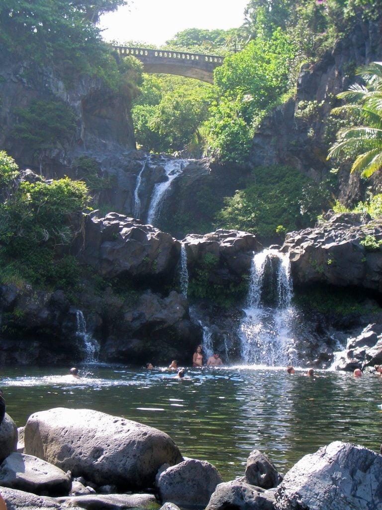 HAWAII COSA VEDERE SEVEN POOLS MAUI, HANA ROAD