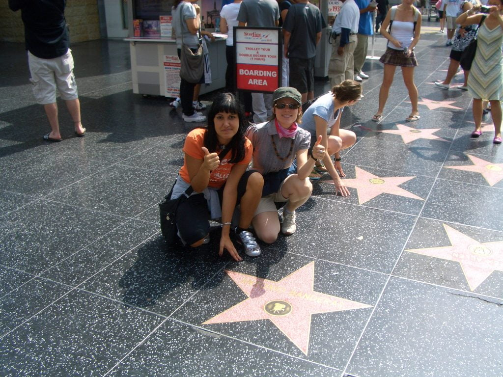 WALK OF FAME LOS ANGELES - VIAGGIO IN AMERICA ON THE ROAD