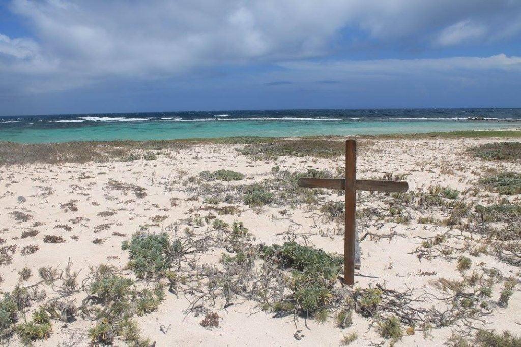 BABY BEACH ISOLA DI ARUBA, NELLA PARTE DI SPIAGGIA MENO CONOSCIUTA