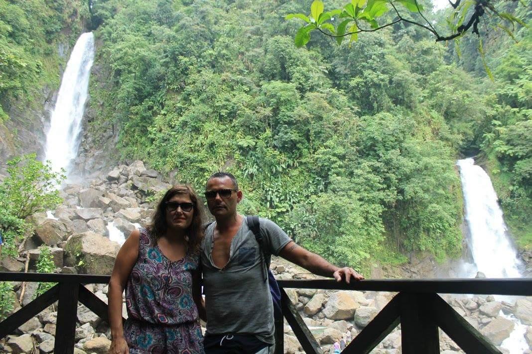 DOMINICA, TRAFALGAR FALLS2
