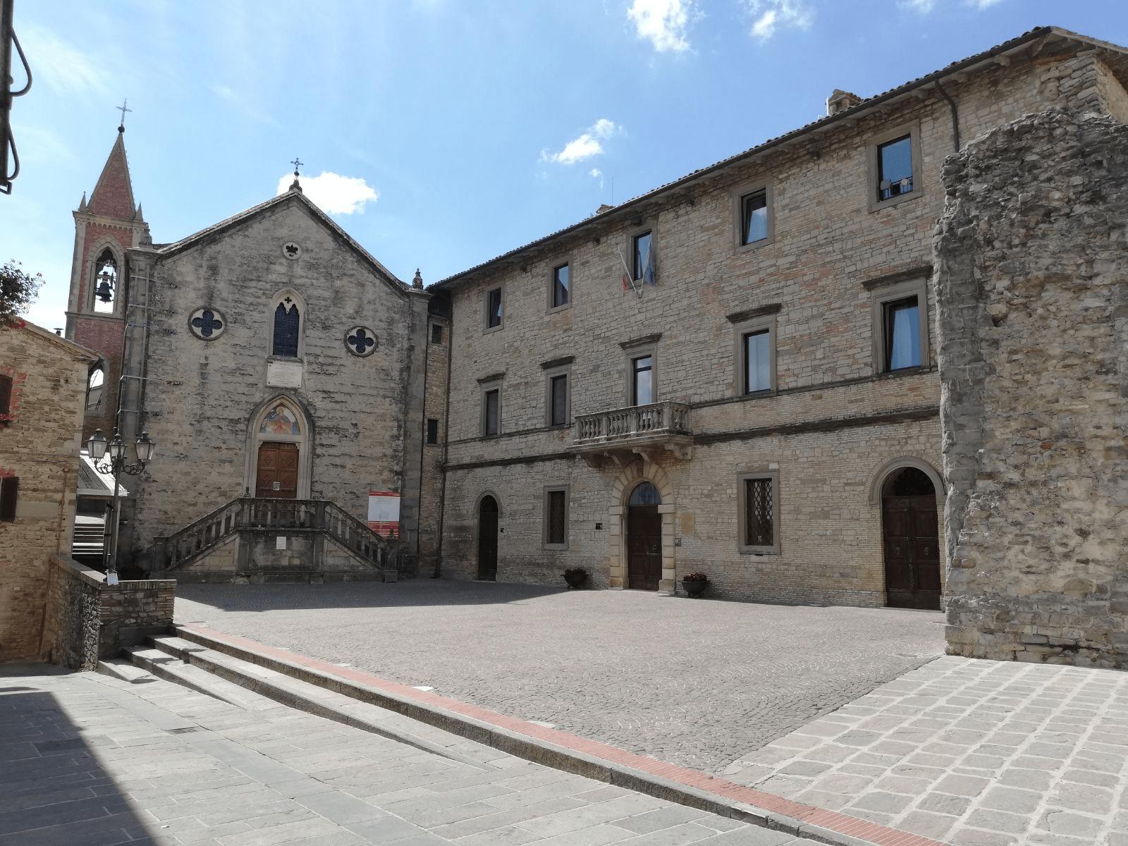 PIETRALUNGA, chiesa Parrocchiale Pieve di Santa Maria