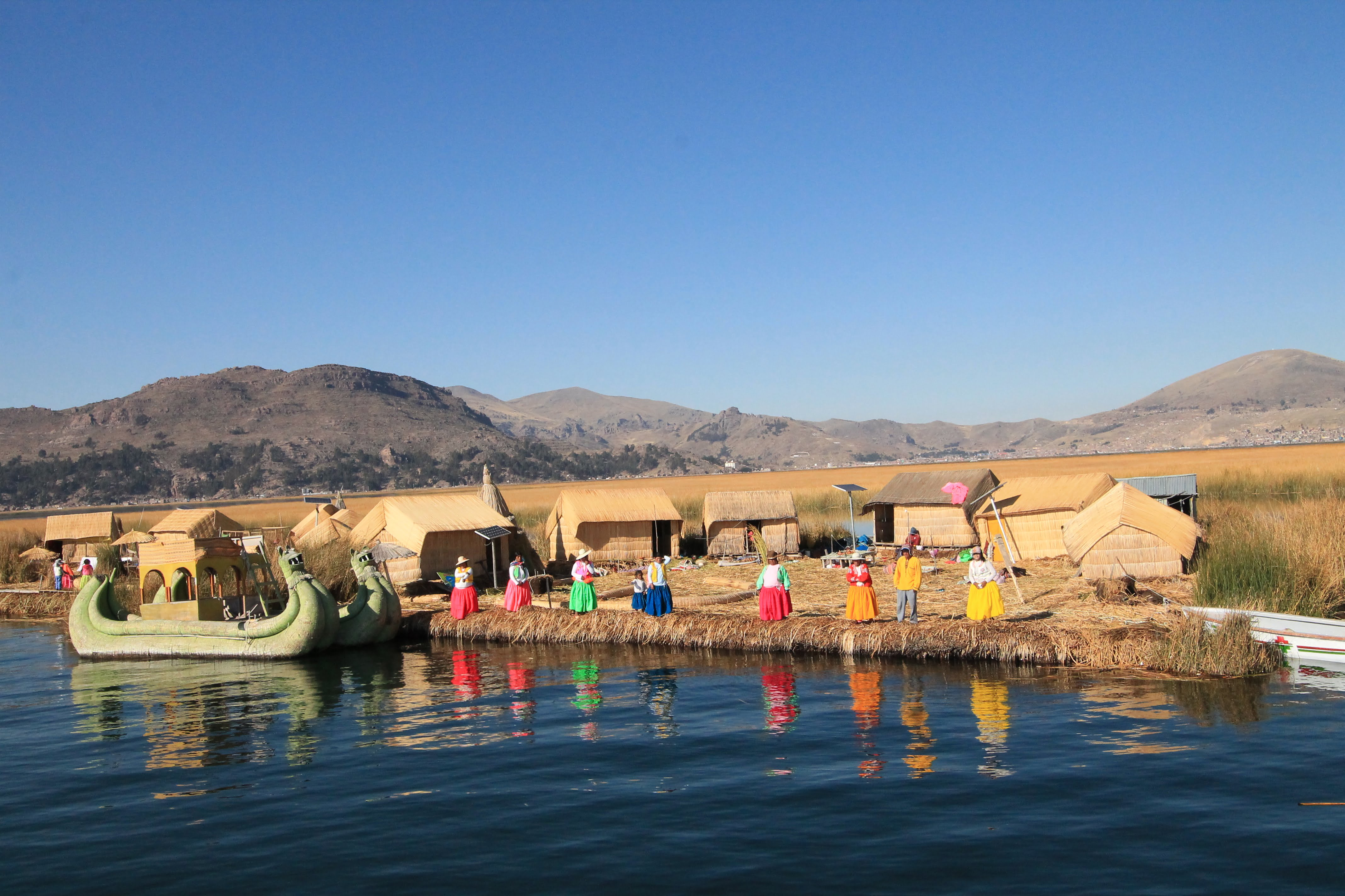 COSA VEDERE IN PERU' LAGO TITICACA, ISOLE DEGLI UROS
