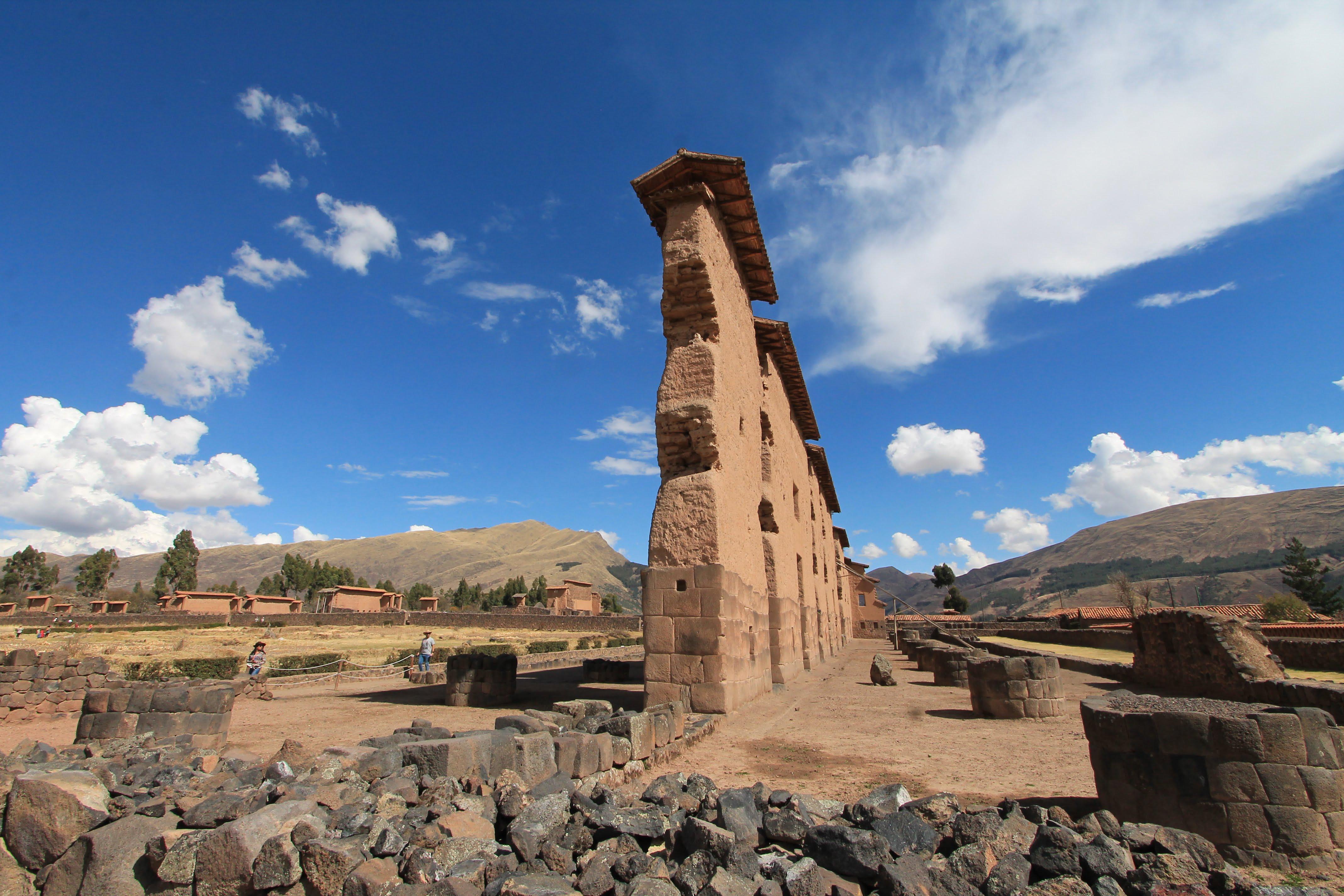 COSA VEDERE IN PERU' RAQCHI, Tempio di Wiracocha