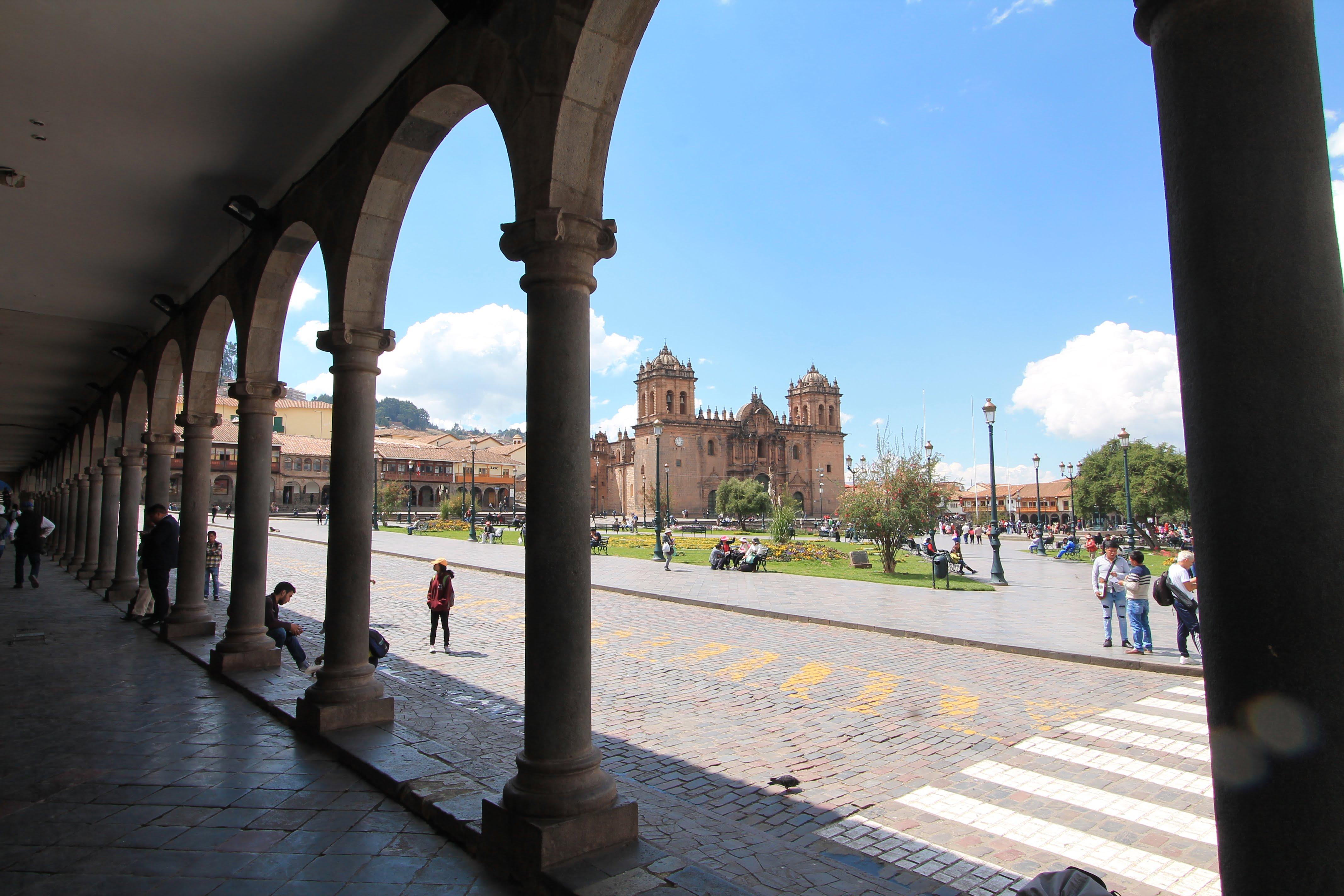 COSA VEDERE IN PERU' CUSCO, PLAZA DES ARMAS