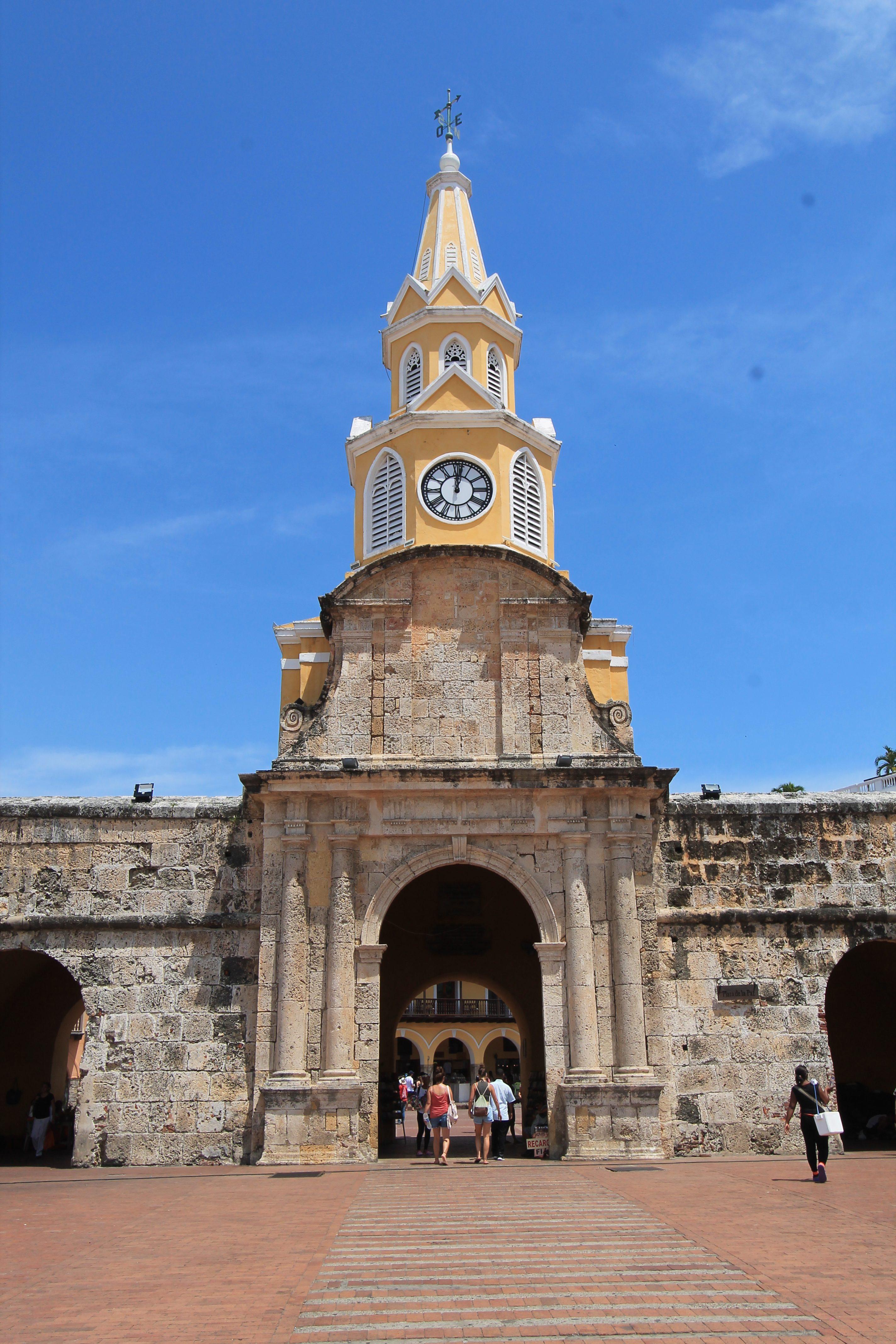 Porta dell'orologio Cartagena, crociera Antille
