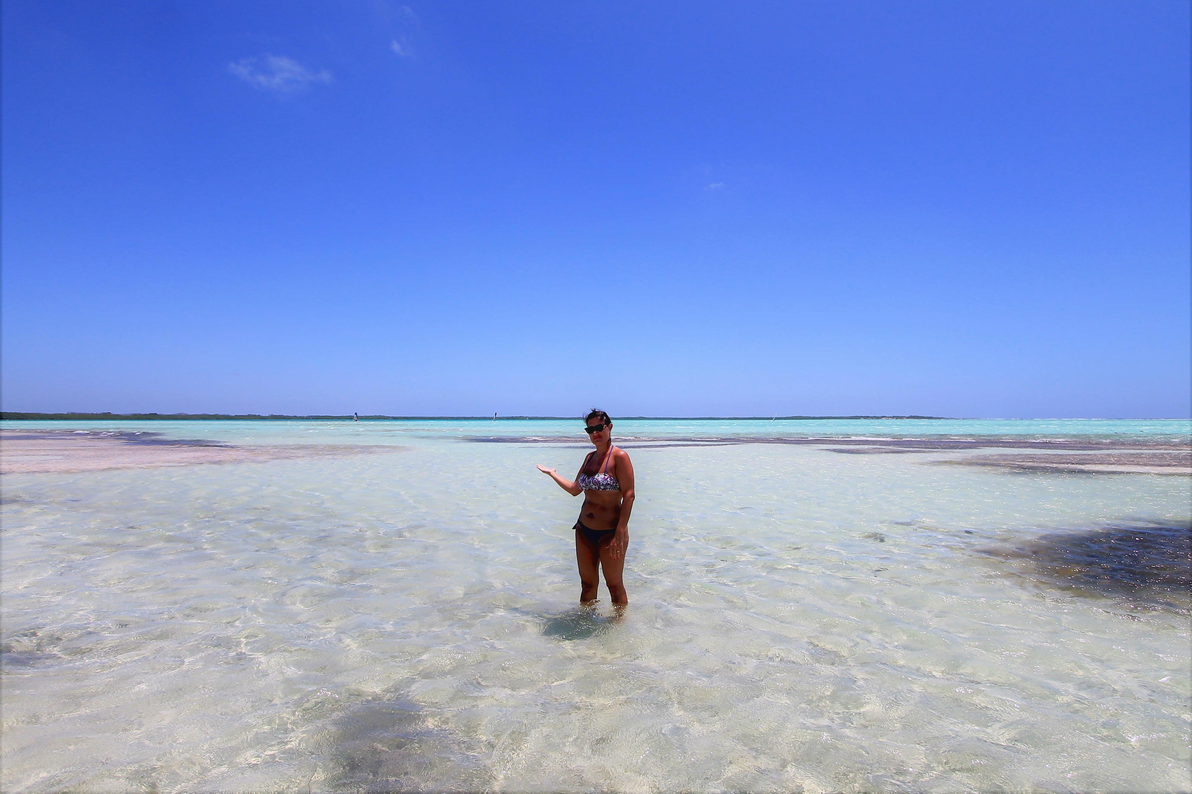 spiaggia di Sorobon beach Bonaire, crociera antille Olandesi