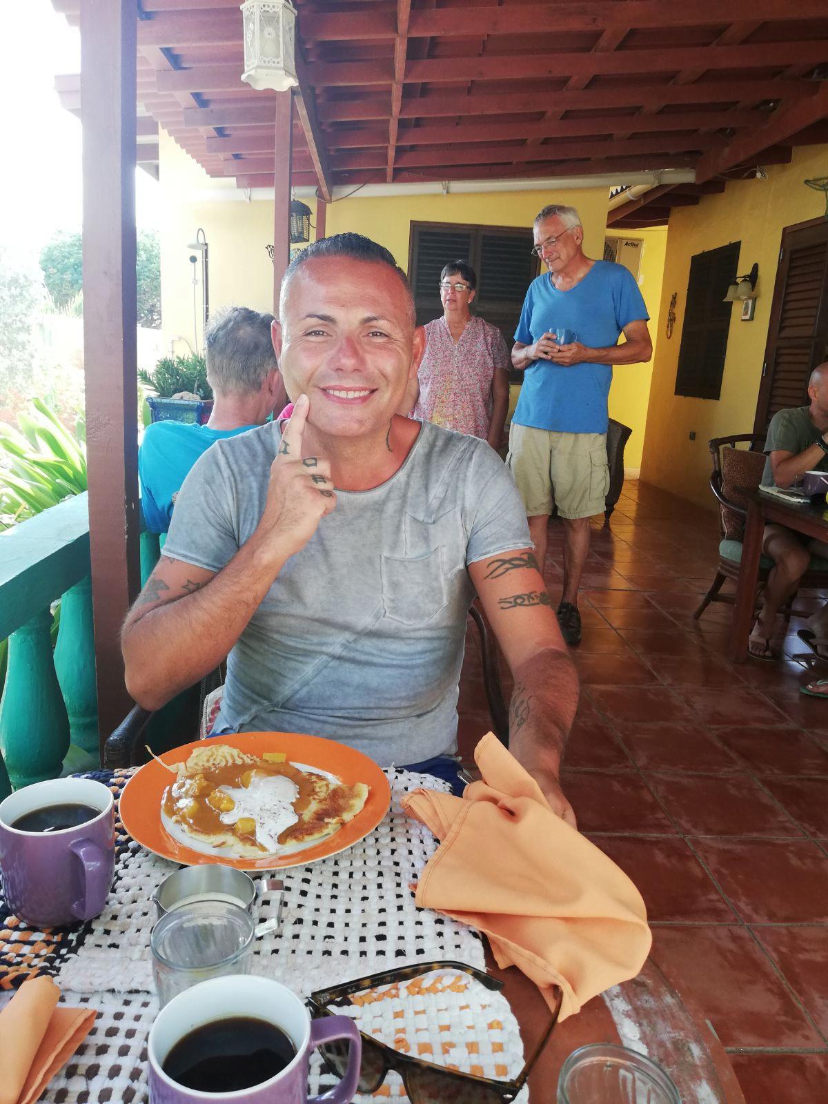 Buffam's Tropical Haven Aruba, la colazione