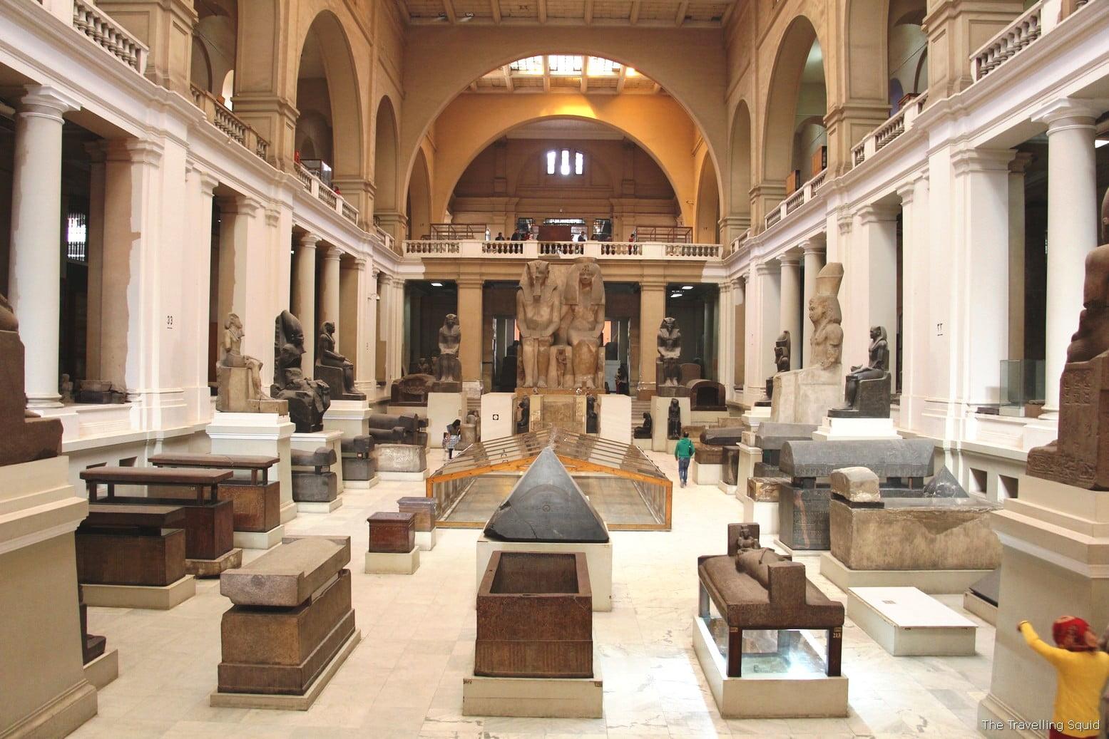 IL MUSEO EGIZIO DEL CAIRO GLI INTERNI