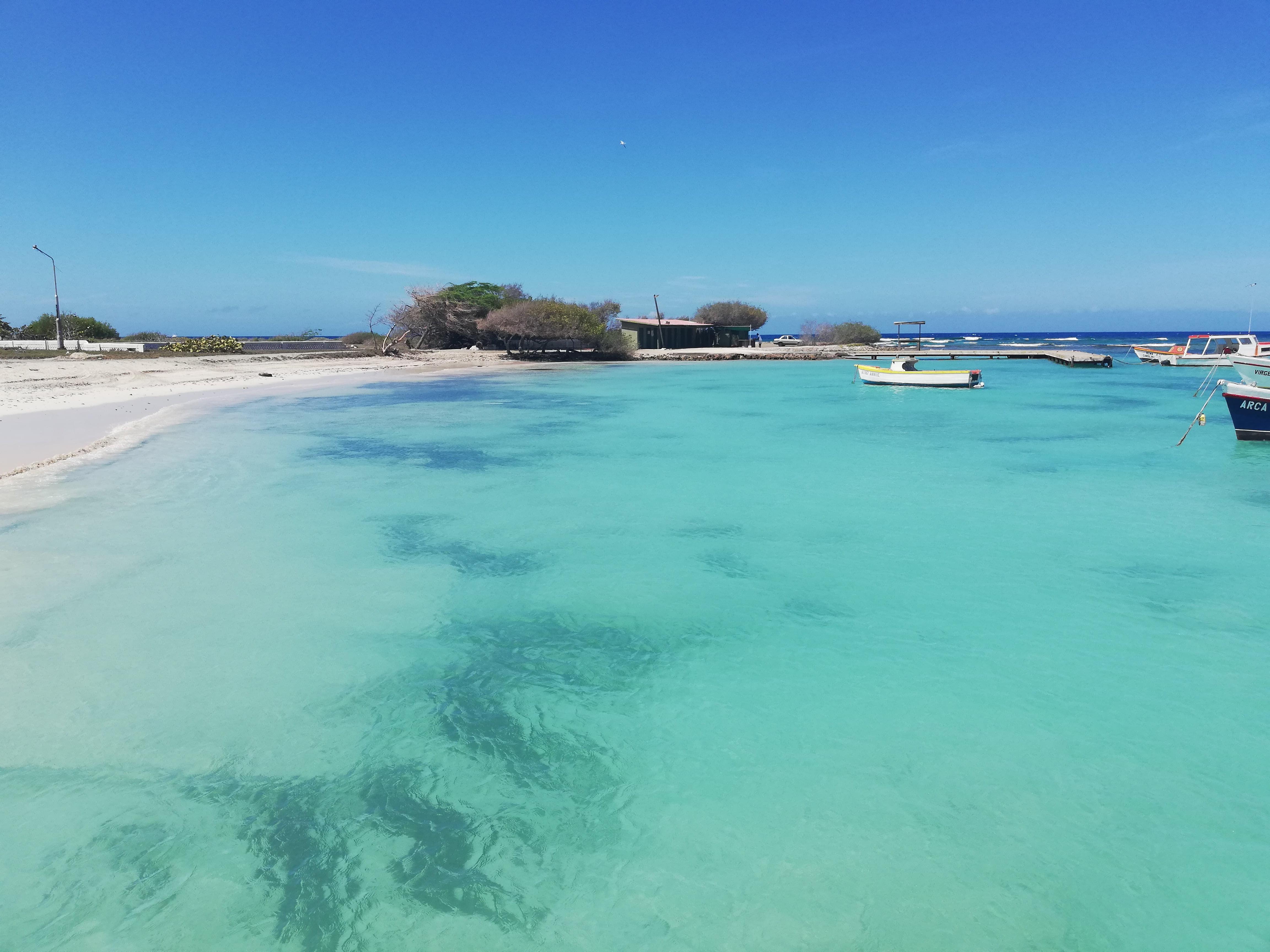 rodger beach aruba, MARE TURCHESE E SPIAGGIA BIANCA
