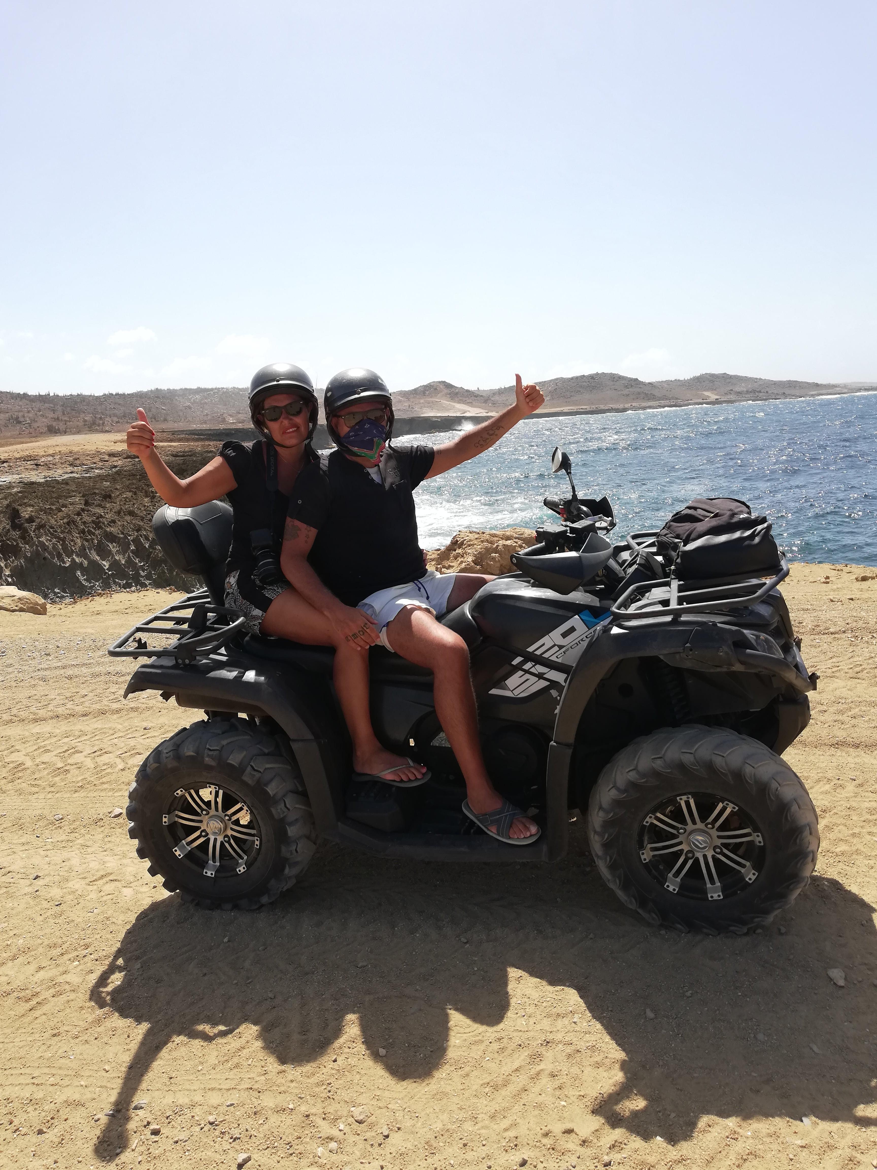COSA FARE AD ARUBA: ACTION TOURS CON ATV (QUAD)