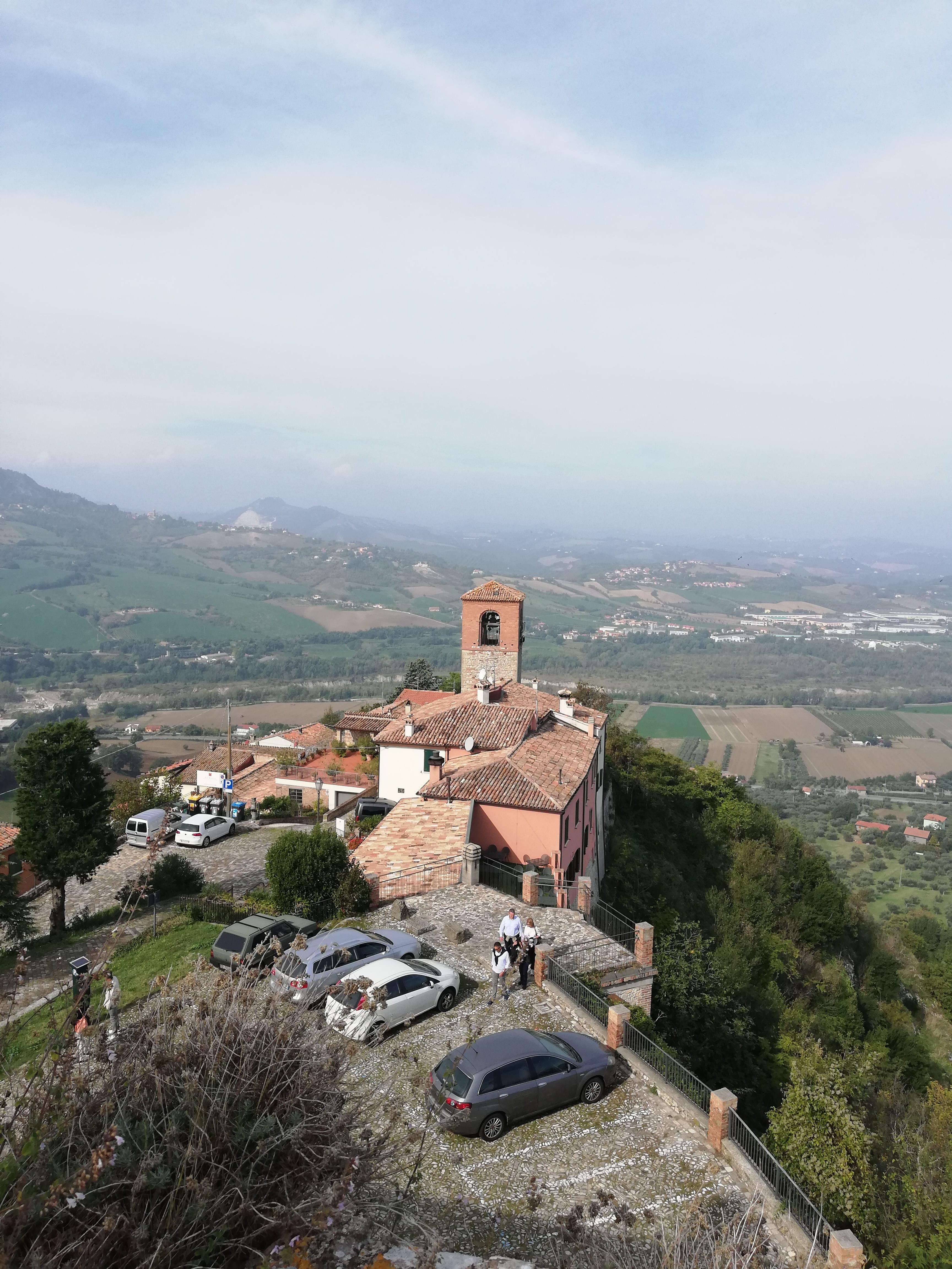 VERUCCHIO COSA VEDERE, vista del borgo dall'alto