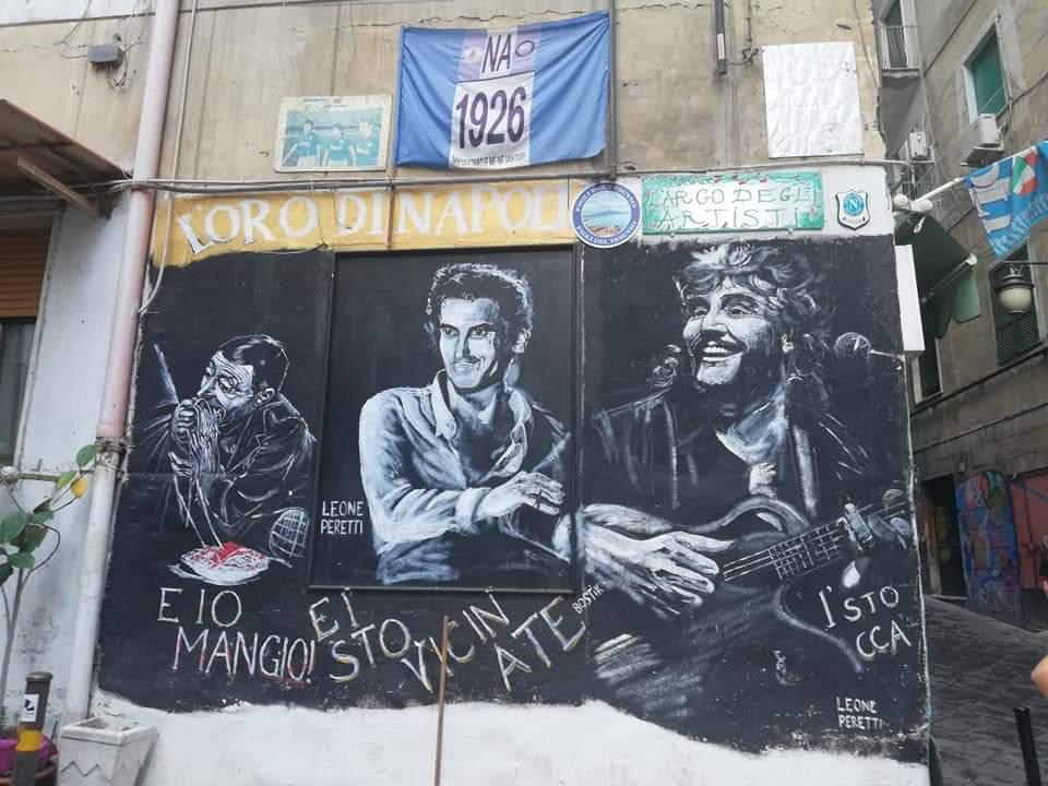 Murales nei Quartieri Spagnoli