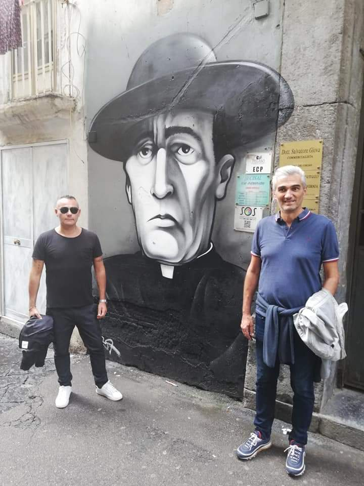 Street Art nei Quartieri Spagnoli Totò