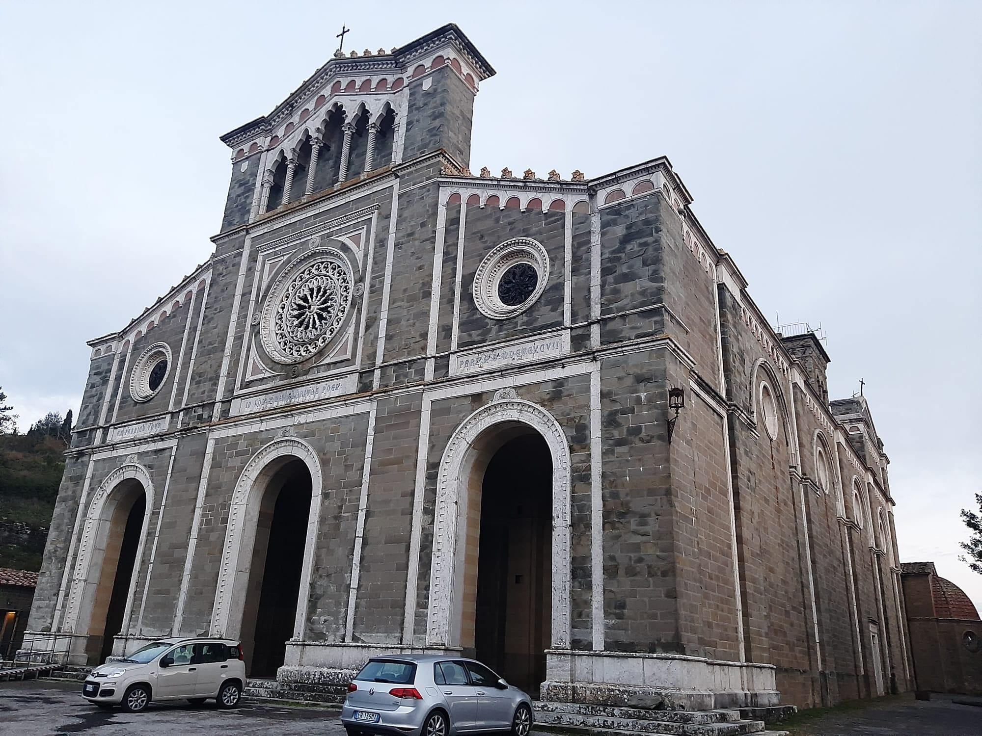 COSA VEDERE A CORTONA, santuario di Santa Margherita