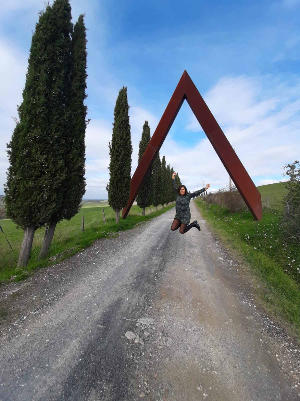 OPERE D'ARTE MODERNA A VOLTERRA, IL PORTALE DI STACCIOLI