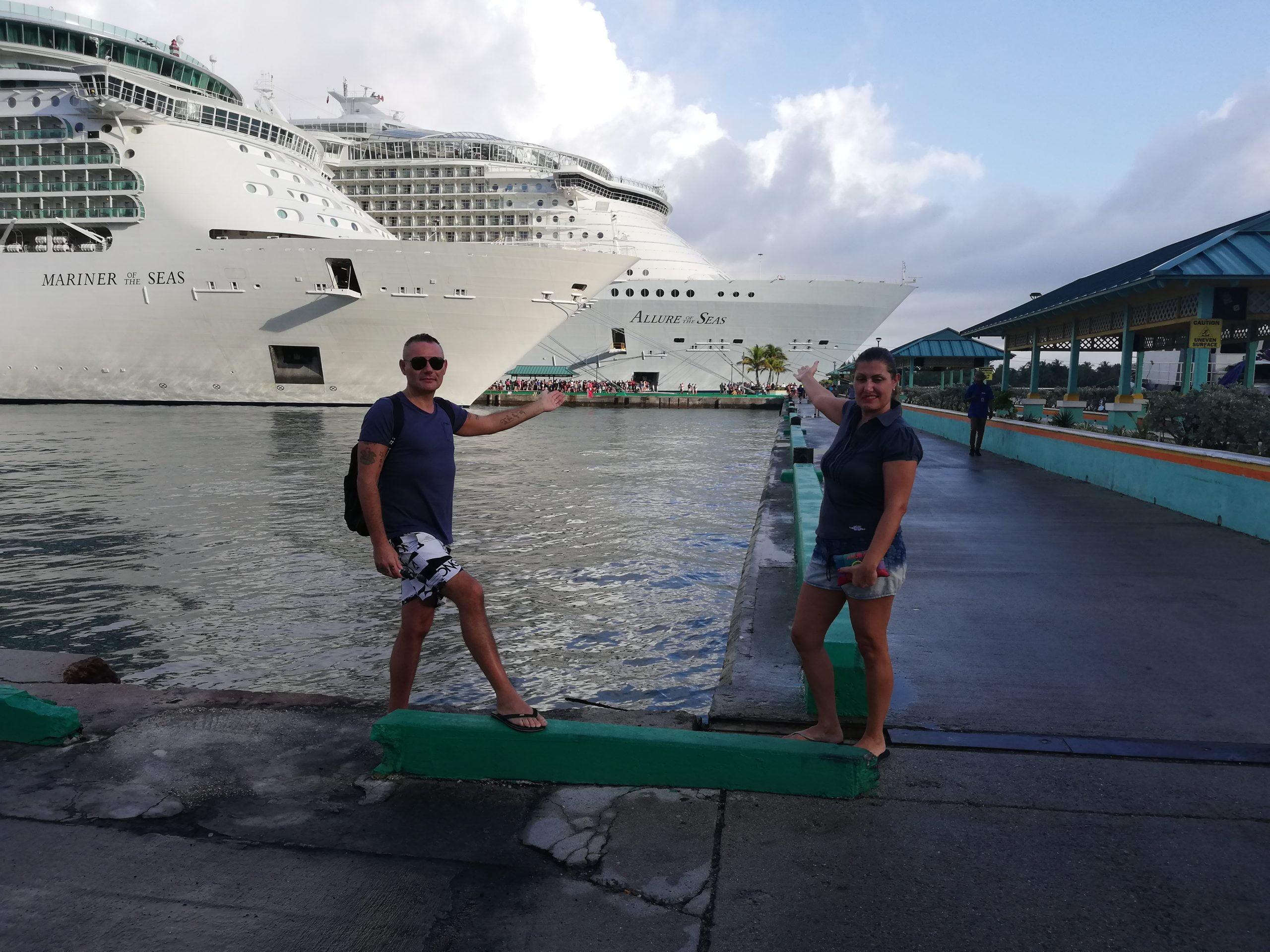 navi della royal caribbean, Mariner e Allure