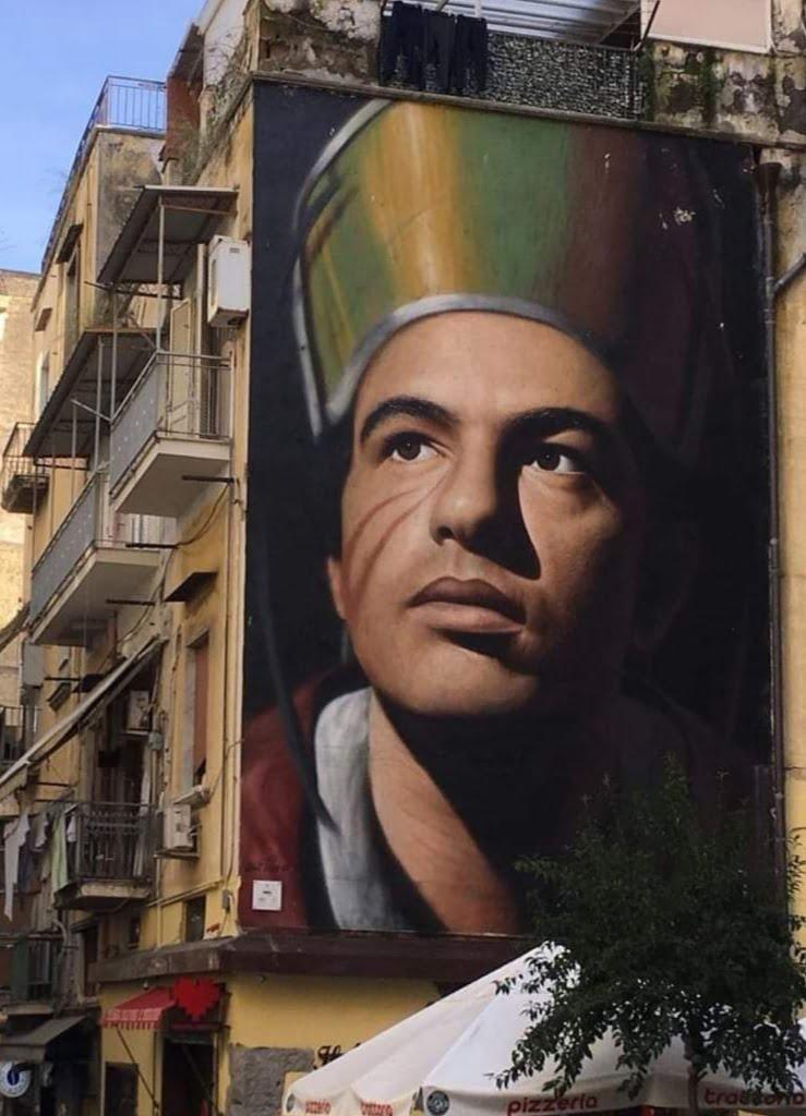 Murales di Napoli - San Gennaro