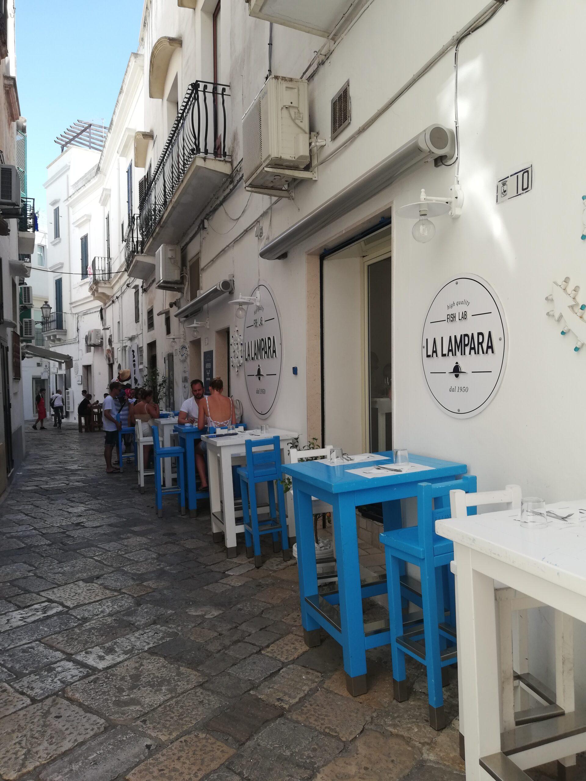 centro storico di Gallipoli, un vicolo