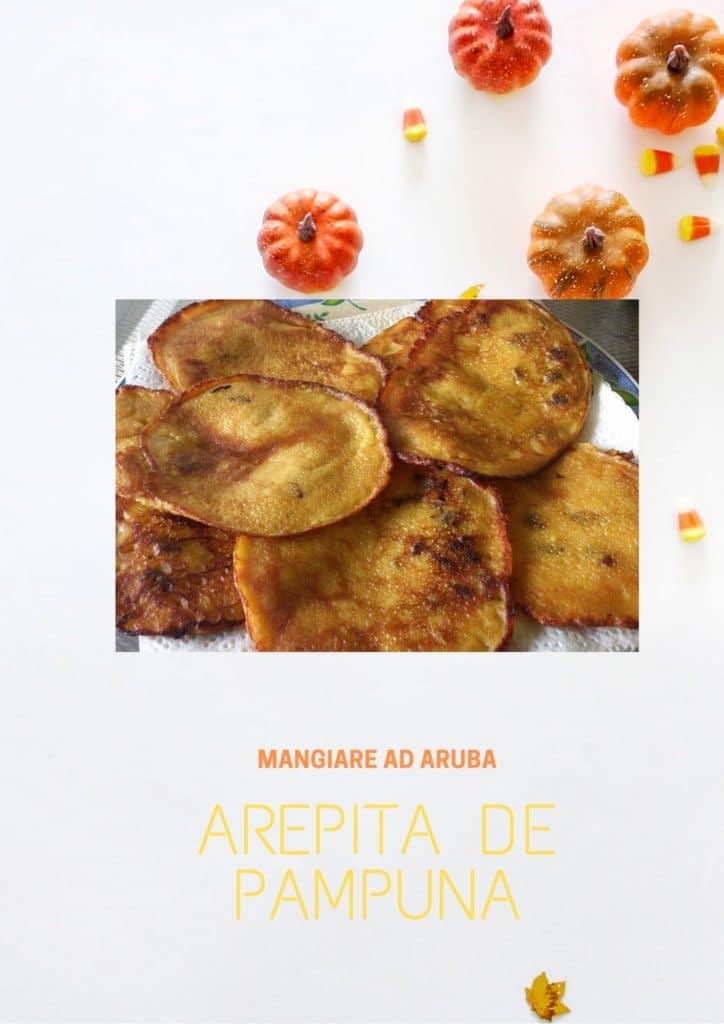 MANGIARE AD ARUBA, AREPITA DE PAMPUNA